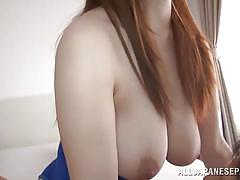 Nippon milf goes on top