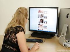 Abigail toyne office girl caught sd