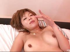 Japanese slut rika aina fucking with muscled stud