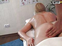 blonde, massage, babe, russian, oiled, bubble butt, big booty, milky white, ass grabbing, ariana xx, hd massage porn, wtf bucks