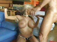 Blonde hot pussy banging