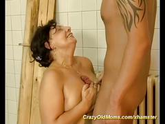 Fat mom loves wild sex