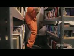 Prison library abuse