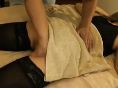 European babe massage sex and creampie