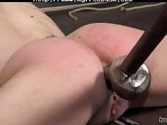Amber rayne tied up and fucked...4twenty bdsm bondage slave femdom domination