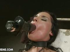 Bettina's discipline rewarded with jizz