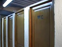 Les toilettes du camping