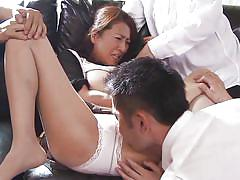 mature, asian, punish, gangbang, foursome, domination, blowjob, humiliation, pussy fingering, mouth fingering, rika fujishita, japanese matures, idol bucks