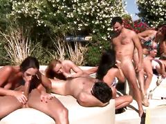 Brazzers pool party!