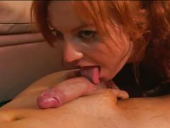 Fiery redhead babe wants to be assfucked