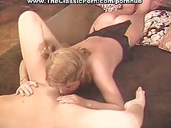 Nasty orgy from classy lesbian gals