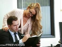 Office whore corrina blake fucking her boss
