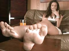 Ignoring you with dirty feet