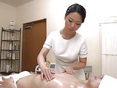 milf, handjob, massage, asian, oiled, brunette, hairy cock, jp milfs, idol bucks