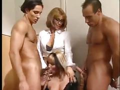 Italian anal foursome