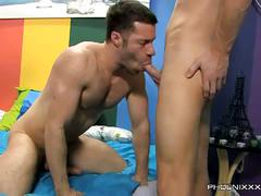 A little gay enjoys sucking and fucking