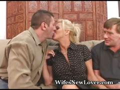 blonde, cheating, couple, cuckold, gonzo, mature, older, swinger, voyeur, wife