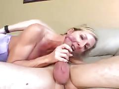 Blondy sluty big boobs milf
