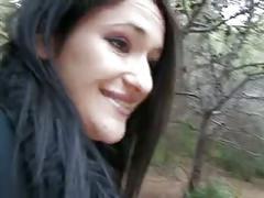 Lisa dans les bois