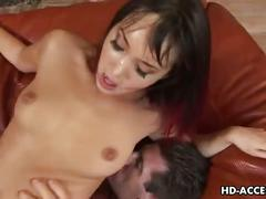 Hot milf with nice lips gets fucked like mad