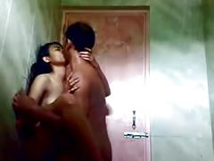 (dirtycook) indian gf fucked in the shower
