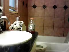 Neighbor & land lady peep on my webcam shower