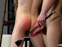 Spank and fuck with reece and dan