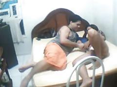 Desi bangali girlfriend drilled hard