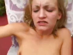 Blonde anal pov