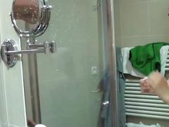 The shower girl