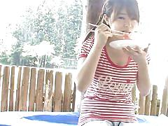 Eating and fucking - nippon style