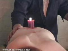 pussy, hot, amateur, bdsm, bondage, slave, tape, and, fire, burning, cruel, waxing, harsh, aylith