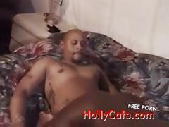 Ebony fucked sex  blowjob  cumshot  thin  booty