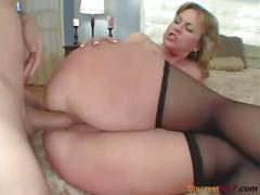 Big ass milf loves anal sex
