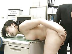Humiliated by her coworkers at the office