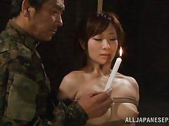 Harsh military interrogation