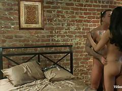 tattoo, anal, rimjob, domination, long hair, from behind, nice ass, brunette shemale, tranny milf, jesssica fox, rod daily, ts seduction, kinky dollars