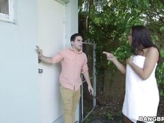 Kinky stepmom rachel starr catches dillion carters boyfriend perving over h