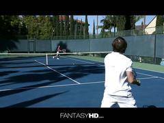 Dillion harper every tennis instructors dream