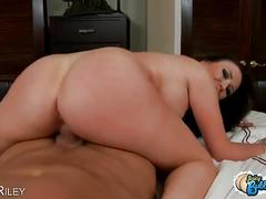 Dylan riley bounces her big ass in pov style fuck