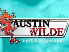 Austin wilde toying ass in solo jerking