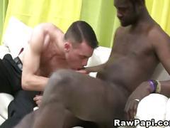 Big black horny cock and tight ass latin gay.