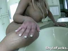 Shyla stylez by herself and intimate