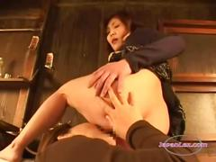 2 mature asian women sucking nipples licking and...