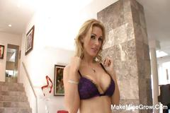 Long shaft for busty blonde milf tanya tate