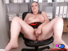 Grandma squirts on office webcam - chattercams.net