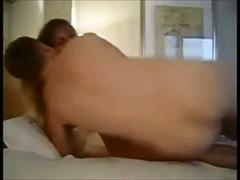 Amateur couple fucks in hotel