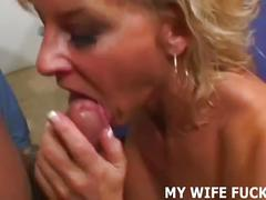 Watch me riding a complete stranger's huge cock