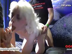 Skinny ashley cox is back for more cocks - german goo girls