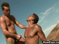 Dark latin gay ass wild bareback